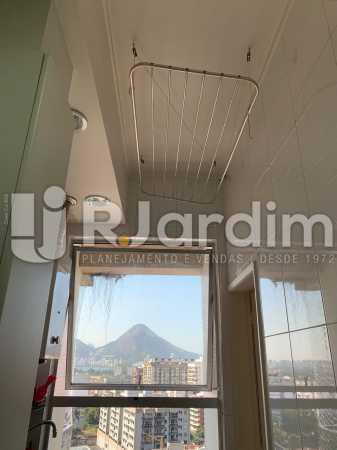 área de serviço - Apartamento à venda Rua Marquês de São Vicente,Gávea, Zona Sul,Rio de Janeiro - R$ 1.150.000 - LAAP10430 - 19