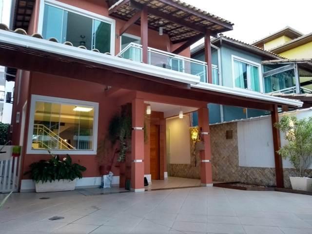 FACHADA - Casa Alto Padrão Costazul - Rio das Ostras - RJ - CA0047 - 1