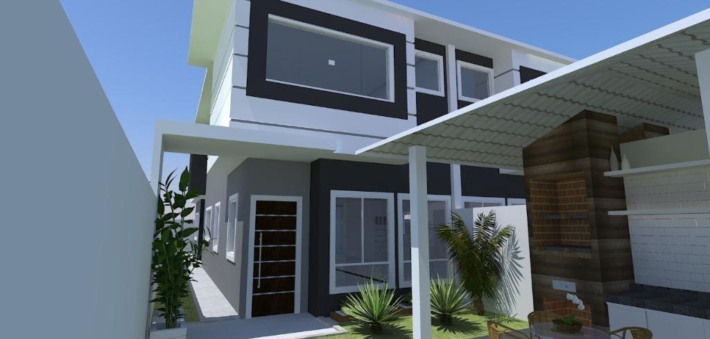 FOTO0 - Casa à venda Rua Rubi,Ouro Verde, Rio das Ostras - R$ 570.000 - CA0116 - 1