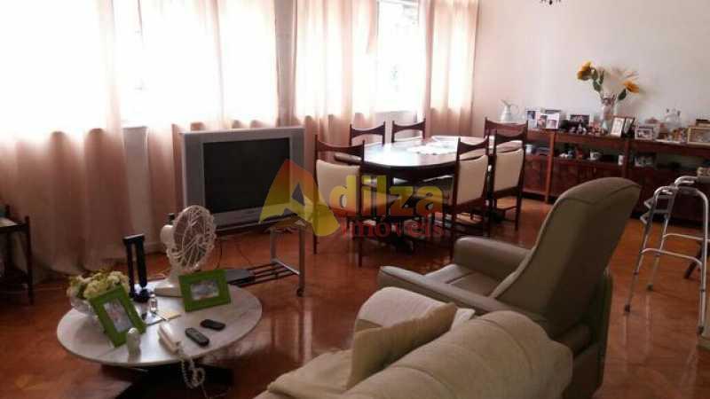 983701011609559 - Apartamento Rua Uruguai,Tijuca, Rio de Janeiro, RJ À Venda, 3 Quartos, 130m² - TIAP30133 - 1