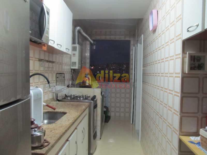 Cozinha com area de servico - Apartamento à venda Rua Ibituruna,Maracanã, Rio de Janeiro - R$ 535.000 - TIAP20602 - 18