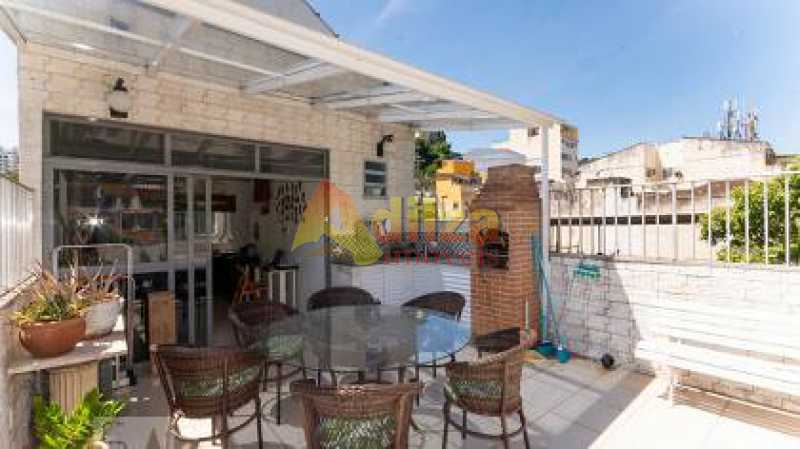 db658a07287f1485d7cdd390634215 - Cobertura à venda Rua Campos da Paz,Rio Comprido, Rio de Janeiro - R$ 380.000 - TICO30031 - 1