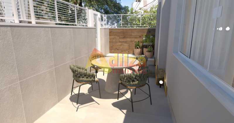 fotos-4 - Casa de Vila à venda Rua Carlos de Vasconcelos,Tijuca, Rio de Janeiro - R$ 1.150.000 - TICV50002 - 4