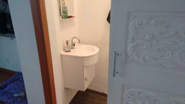 lavabo - Imóvel Casa de Vila À VENDA, Tijuca, Rio de Janeiro, RJ - TICV00001 - 9