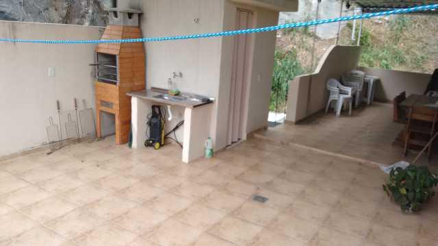 terraço 1 - Imóvel Casa de Vila À VENDA, Tijuca, Rio de Janeiro, RJ - TICV00001 - 22