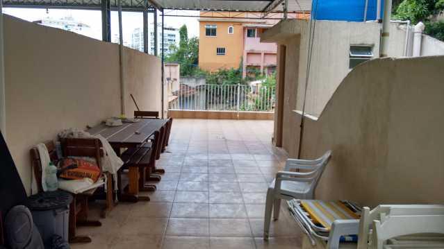 terraço 3 - Imóvel Casa de Vila À VENDA, Tijuca, Rio de Janeiro, RJ - TICV00001 - 24
