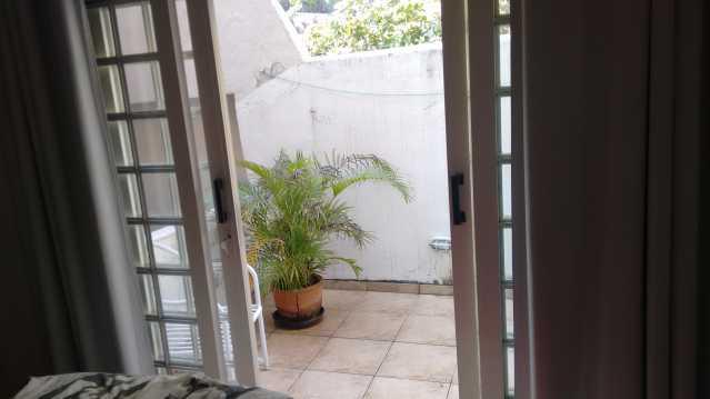 varanda quarto 1 - Imóvel Casa de Vila À VENDA, Tijuca, Rio de Janeiro, RJ - TICV00001 - 25