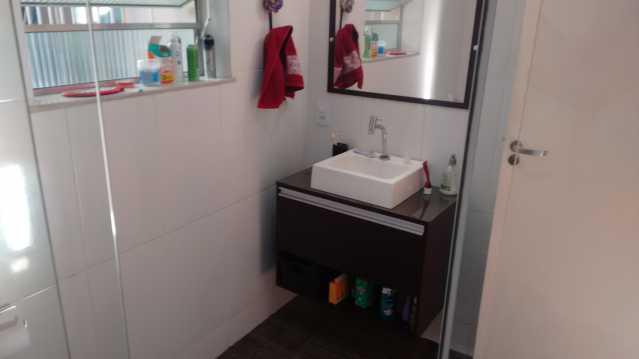 WC principal 2 - Imóvel Casa de Vila À VENDA, Tijuca, Rio de Janeiro, RJ - TICV00001 - 31