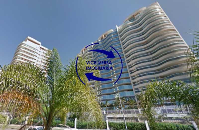 fachada - Apartamento À venda na Barra - Américas Park Sunspecial,166m2, varandão, 4 quartos (2 suítes), dependências, 2 vagas! - 1183 - 1