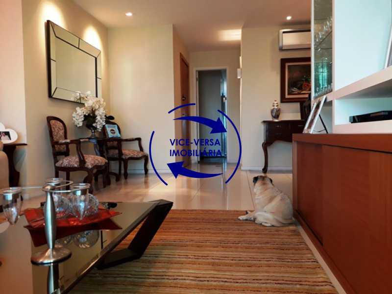 sala - Apartamento À venda na Barra - Américas Park Sunspecial,166m2, varandão, 4 quartos (2 suítes), dependências, 2 vagas! - 1183 - 3