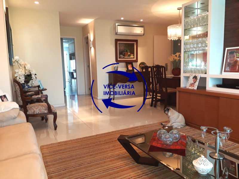 sala - Apartamento À venda na Barra - Américas Park Sunspecial,166m2, varandão, 4 quartos (2 suítes), dependências, 2 vagas! - 1183 - 5