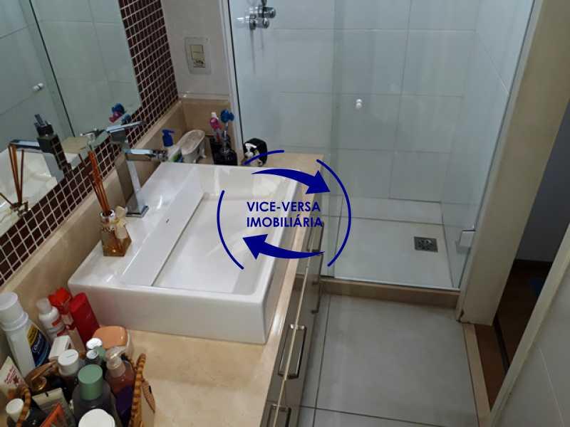 banheiro-da-primeira-suite - Apartamento À venda na Barra - Américas Park Sunspecial,166m2, varandão, 4 quartos (2 suítes), dependências, 2 vagas! - 1183 - 16