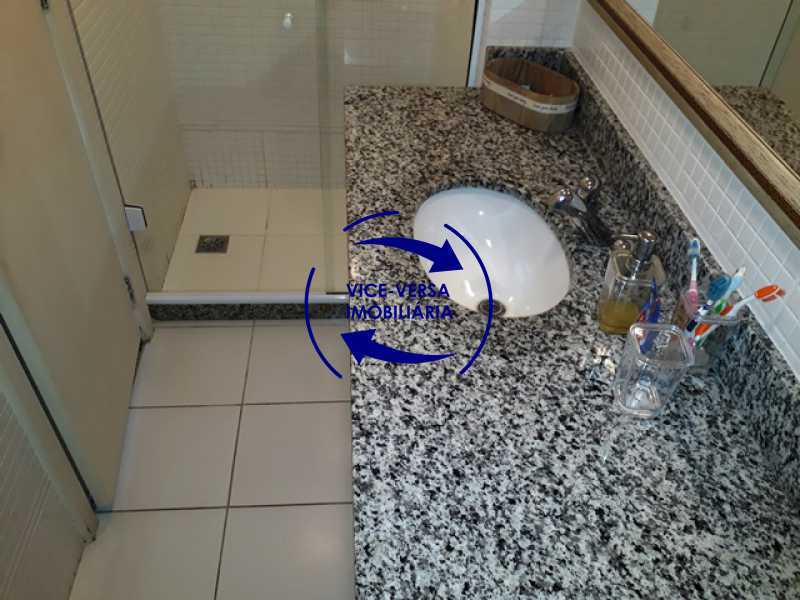 banheiro-da-segunda-suite - Apartamento À venda na Barra - Américas Park Sunspecial,166m2, varandão, 4 quartos (2 suítes), dependências, 2 vagas! - 1183 - 19