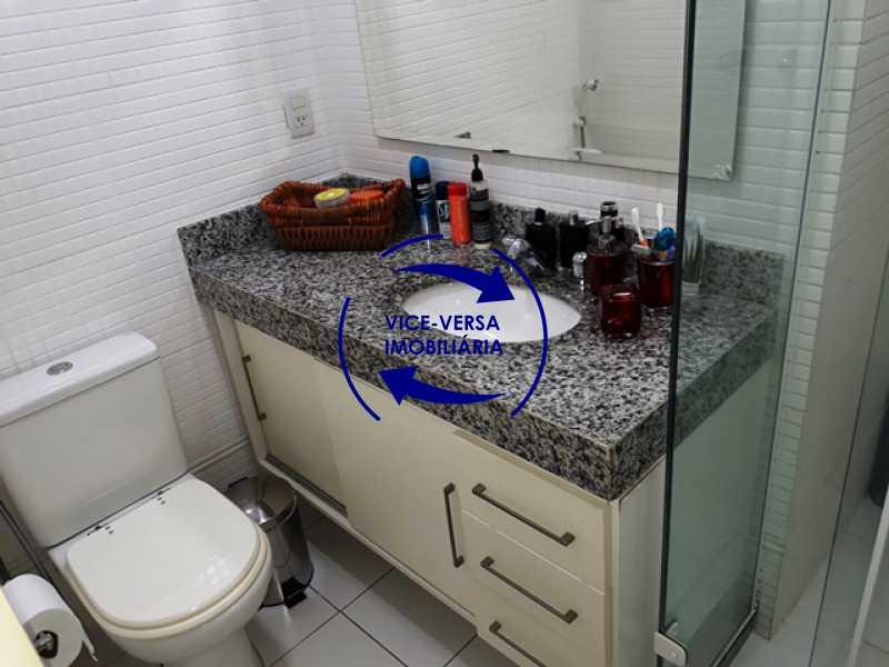 banheiro-social - Apartamento À venda na Barra - Américas Park Sunspecial,166m2, varandão, 4 quartos (2 suítes), dependências, 2 vagas! - 1183 - 21