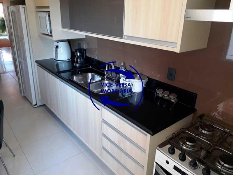 cozinha - Apartamento À venda na Barra - Américas Park Sunspecial,166m2, varandão, 4 quartos (2 suítes), dependências, 2 vagas! - 1183 - 23