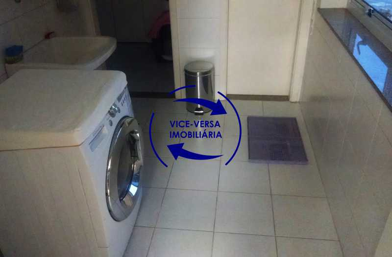 lavanderia - Apartamento À venda na Barra - Américas Park Sunspecial,166m2, varandão, 4 quartos (2 suítes), dependências, 2 vagas! - 1183 - 24
