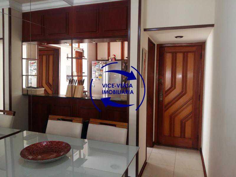 sala - Apartamento À venda no Méier, a 65 metros do posto Detran - sala, varanda, 2 quartos com armários, cozinha planejada, dependências, vaga! - 1191 - 8