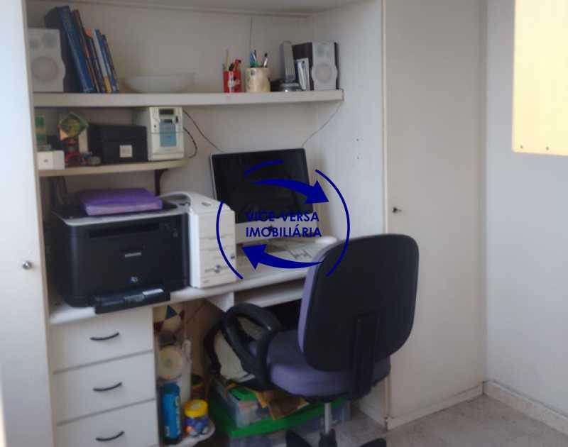 quarto-de-empregada - Apartamento À venda no Méier, a 65 metros do posto Detran - sala, varanda, 2 quartos com armários, cozinha planejada, dependências, vaga! - 1191 - 21