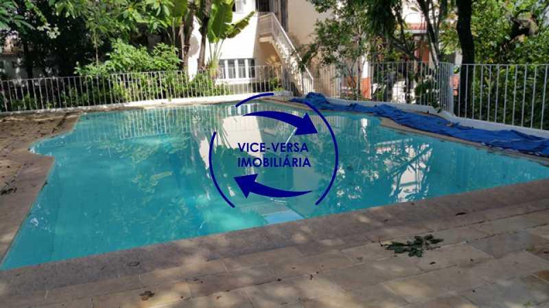 piscina-fundos - Casa duplex À venda no Méier - 774m2, 3 salas, 2 quartos (1 suíte), piscin, 6 vagas! - 1195 - 6