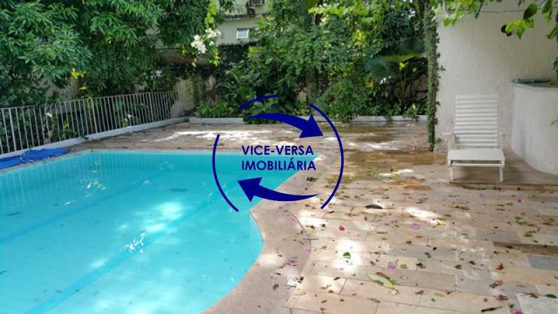 piscina-fundos - Casa duplex À venda no Méier - 774m2, 3 salas, 2 quartos (1 suíte), piscin, 6 vagas! - 1195 - 7