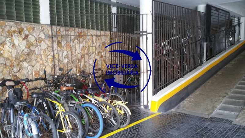 bicicletario - Apartamento À venda em Ipanema - 3 quartos (suíte), dependências reversíveis e vaga! - 1197 - 8
