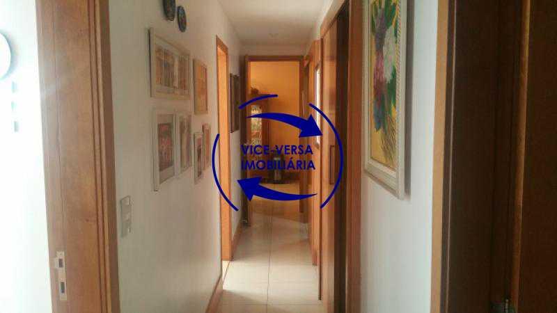 circulacao - Apartamento À venda em Ipanema - 3 quartos (suíte), dependências reversíveis e vaga! - 1197 - 14