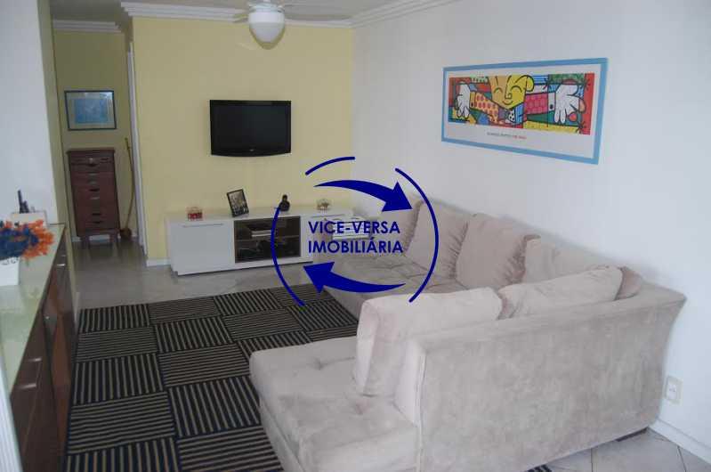 sala estar - Apartamento À venda na Barra - Condomínio Mandala - home office, 3 quartos (suíte), dependências, 2 vagas! - 1205 - 3