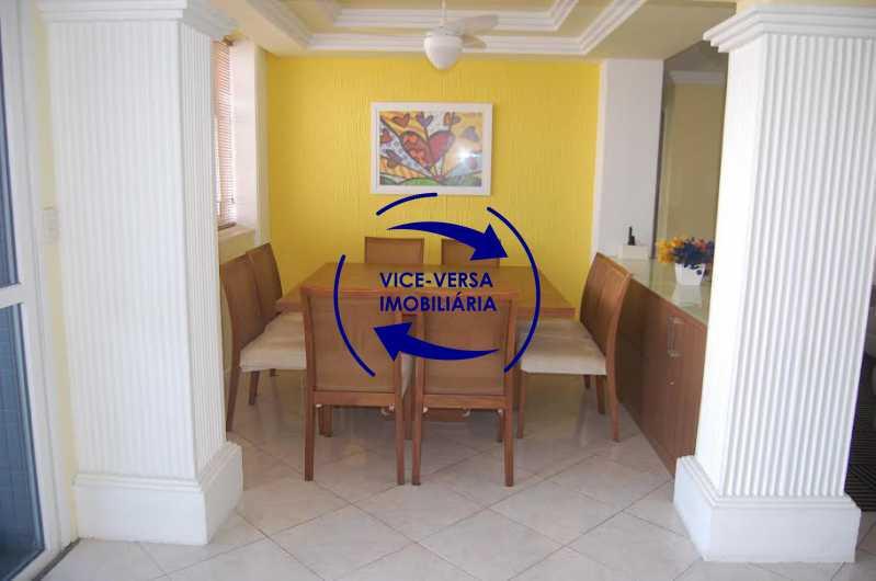 sala jantar - Apartamento À venda na Barra - Condomínio Mandala - home office, 3 quartos (suíte), dependências, 2 vagas! - 1205 - 4