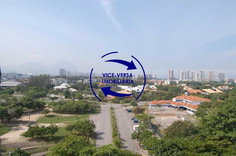 varanda vista - Apartamento À venda na Barra - Condomínio Mandala - home office, 3 quartos (suíte), dependências, 2 vagas! - 1205 - 6