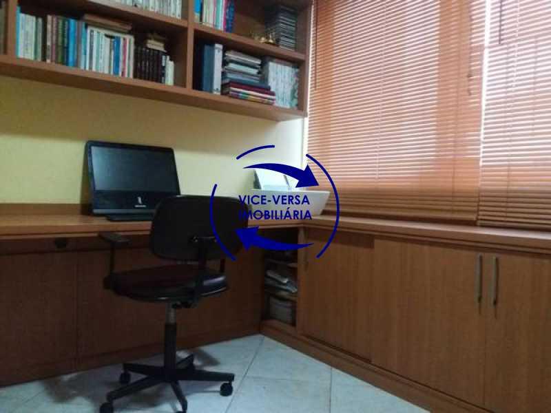 escritório - Apartamento À venda na Barra - Condomínio Mandala - home office, 3 quartos (suíte), dependências, 2 vagas! - 1205 - 9