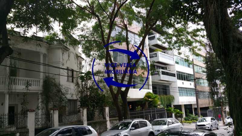 fachada - Apartamento À venda na Tijuca, parte nobre - salão, sala anexa, 3 quartos, suíte, dependências, 2 vagas! - 1209 - 1