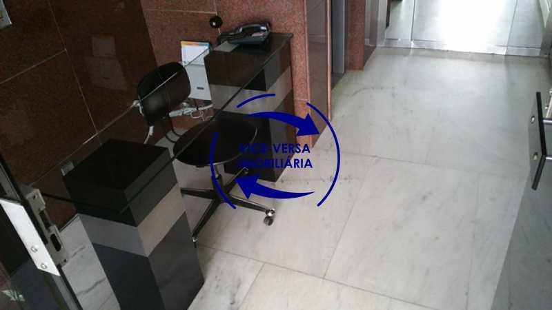 portaria - Apartamento À venda na Tijuca, parte nobre - salão, sala anexa, 3 quartos, suíte, dependências, 2 vagas! - 1209 - 4