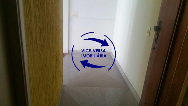 hall-de-entrada - Apartamento À venda na Tijuca, parte nobre - salão, sala anexa, 3 quartos, suíte, dependências, 2 vagas! - 1209 - 5