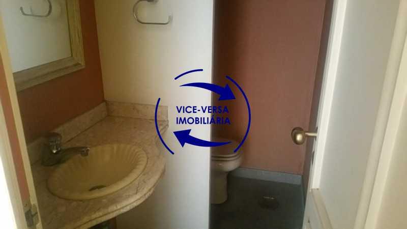 lavabo - Apartamento À venda na Tijuca, parte nobre - salão, sala anexa, 3 quartos, suíte, dependências, 2 vagas! - 1209 - 7
