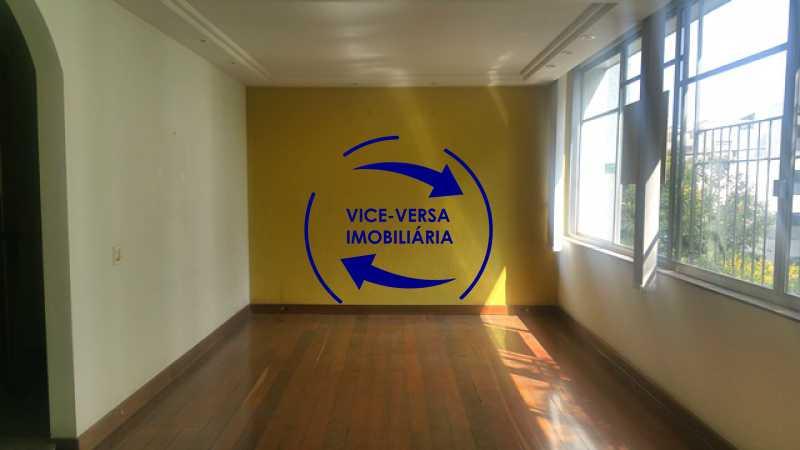 salao - Apartamento À venda na Tijuca, parte nobre - salão, sala anexa, 3 quartos, suíte, dependências, 2 vagas! - 1209 - 8