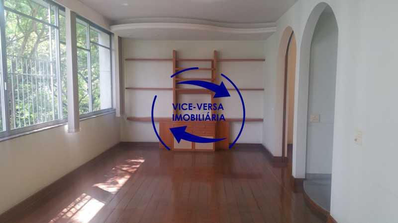 salao - Apartamento À venda na Tijuca, parte nobre - salão, sala anexa, 3 quartos, suíte, dependências, 2 vagas! - 1209 - 9