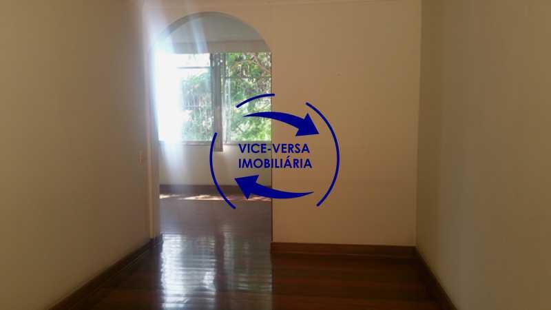 segunda-sala - Apartamento À venda na Tijuca, parte nobre - salão, sala anexa, 3 quartos, suíte, dependências, 2 vagas! - 1209 - 10