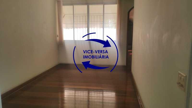 segunda-sala - Apartamento À venda na Tijuca, parte nobre - salão, sala anexa, 3 quartos, suíte, dependências, 2 vagas! - 1209 - 11
