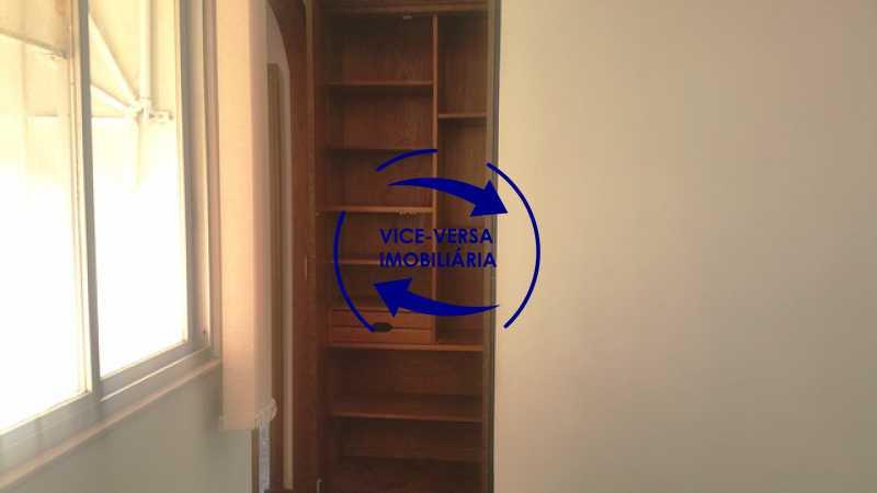 segunda-sala-detalhe-armari - Apartamento À venda na Tijuca, parte nobre - salão, sala anexa, 3 quartos, suíte, dependências, 2 vagas! - 1209 - 12