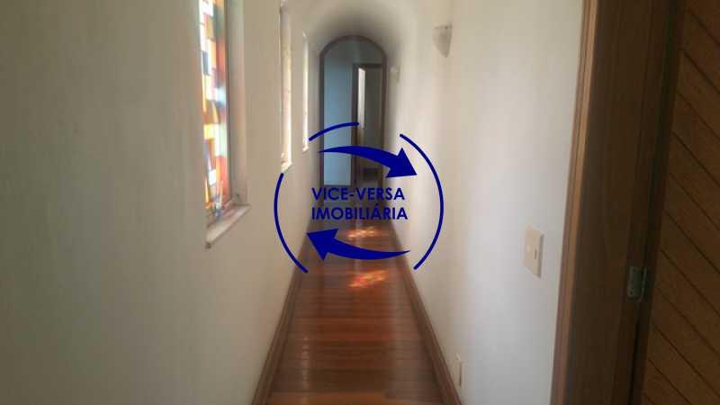 primeira-circulacao - Apartamento À venda na Tijuca, parte nobre - salão, sala anexa, 3 quartos, suíte, dependências, 2 vagas! - 1209 - 13