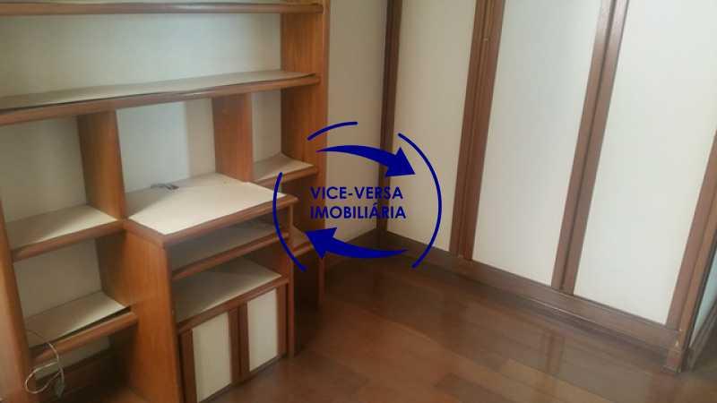 primeiro-quarto - Apartamento À venda na Tijuca, parte nobre - salão, sala anexa, 3 quartos, suíte, dependências, 2 vagas! - 1209 - 20