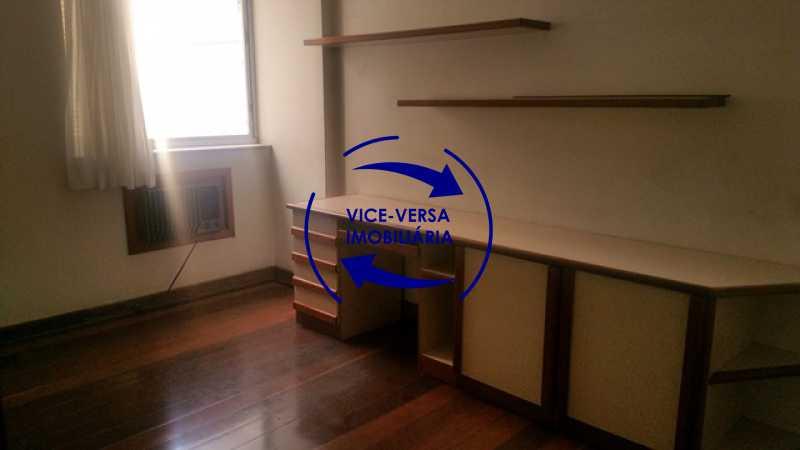 segundo-quarto - Apartamento À venda na Tijuca, parte nobre - salão, sala anexa, 3 quartos, suíte, dependências, 2 vagas! - 1209 - 21