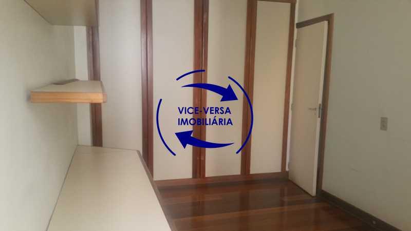 segundo-quarto - Apartamento À venda na Tijuca, parte nobre - salão, sala anexa, 3 quartos, suíte, dependências, 2 vagas! - 1209 - 22