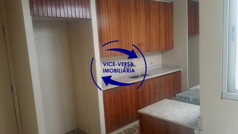 cozinha - Apartamento À venda na Tijuca, parte nobre - salão, sala anexa, 3 quartos, suíte, dependências, 2 vagas! - 1209 - 27