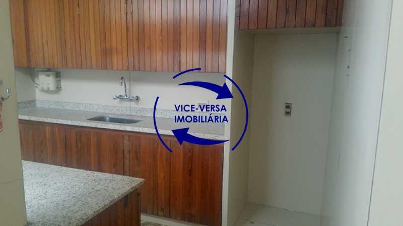 cozinha - Apartamento À venda na Tijuca, parte nobre - salão, sala anexa, 3 quartos, suíte, dependências, 2 vagas! - 1209 - 28
