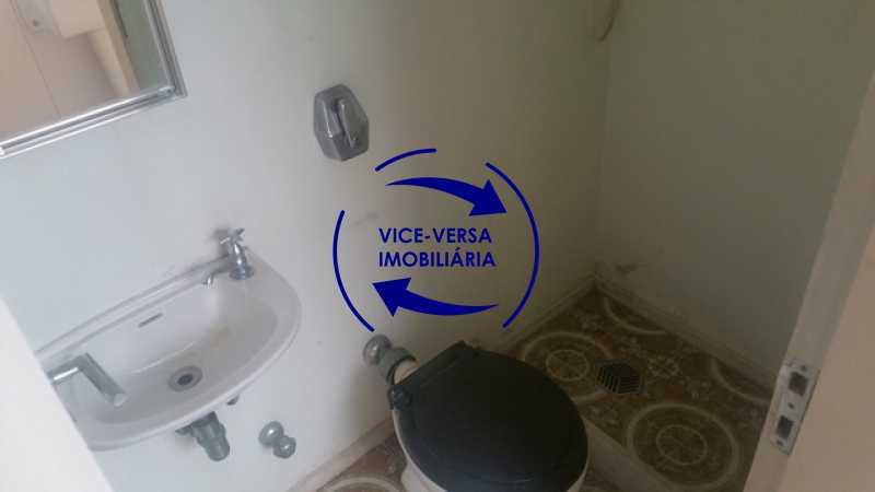 banheiro-de-empregada - Apartamento À venda na Tijuca, parte nobre - salão, sala anexa, 3 quartos, suíte, dependências, 2 vagas! - 1209 - 31