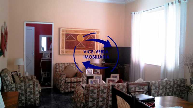 sala - Casa duplex À venda na Tijuca, rua Carmela Dutra - 5 quartos, lavanderia, dependências, garagem, próximo de tudo! - 1233 - 6