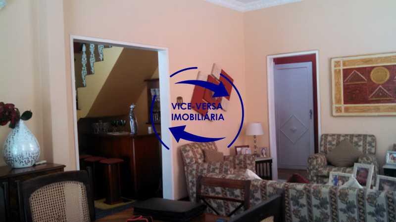 sala - Casa duplex À venda na Tijuca, rua Carmela Dutra - 5 quartos, lavanderia, dependências, garagem, próximo de tudo! - 1233 - 7