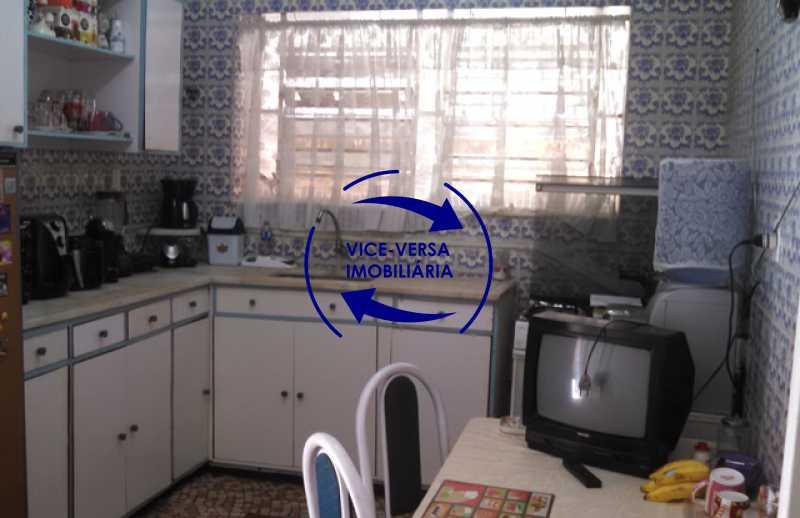 cozinha - Casa duplex À venda na Tijuca, rua Carmela Dutra - 5 quartos, lavanderia, dependências, garagem, próximo de tudo! - 1233 - 11
