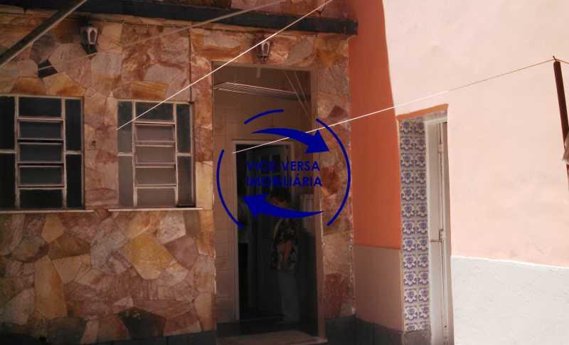 fundos-quintal - Casa duplex À venda na Tijuca, rua Carmela Dutra - 5 quartos, lavanderia, dependências, garagem, próximo de tudo! - 1233 - 13